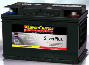 SUPERCHARGE SILVER-PLUS (European Automotive) Battery SMF65L (640CCA) IN-STORE PICK UP ONLY