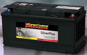 SUPERCHARGE SILVER-PLUS (European Automotive) Battery SMF85L (760CCA)