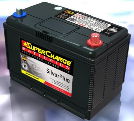 SUPERCHARGE SILVER-PLUS 4WD Automotive Battery SMFN70ZZLX (720 CCA)