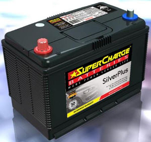 SUPERCHARGE SILVER-PLUS 4WD Automotive Battery SMFN70ZZX (720 CCA)