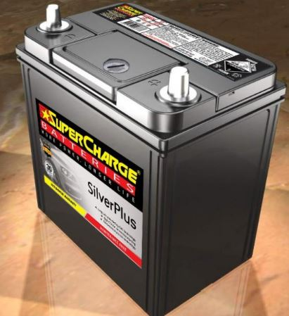 SUPERCHARGE SILVER-PLUS Automotive Battery SMFNS40ZLX (330CCA) IN-STORE PICK UP ONLY