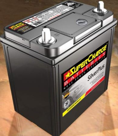 SUPERCHARGE SILVER-PLUS Automotive Battery SMFNS40ZALX (330CCA) IN-STORE PICK UP ONLY