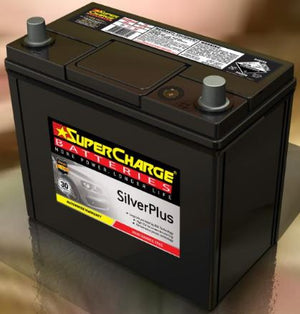 SUPERCHARGE SILVER-PLUS Automotive Battery SMFNS60LS (380CCA)