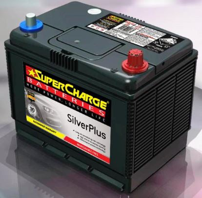 SUPERCHARGE SILVER-PLUS 4WD Automotive Battery SMFNS70LX (620 CCA)