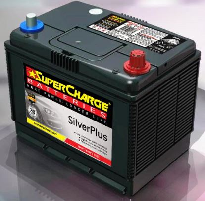 SUPERCHARGE SILVER-PLUS 4WD Automotive Battery SMFNS70LX (620 CCA) IN-STORE PICK UP ONLY
