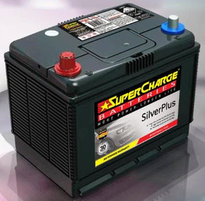 SUPERCHARGE SILVER-PLUS 4WD Automotive Battery SMFNS70X (620 CCA) IN-STORE PICK UP ONLY