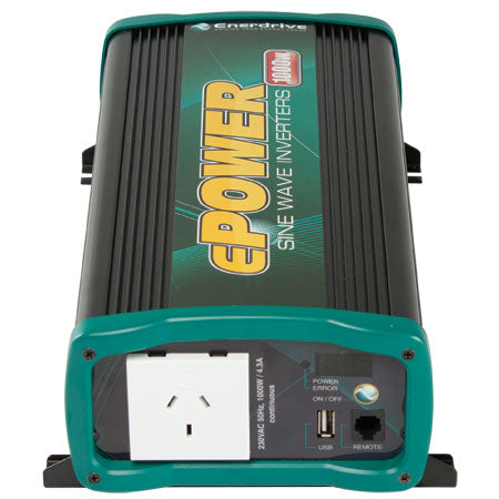 ENERDRIVE ePOWER 1000W True Sine Wave Inverter (BW-EN1110S)