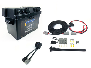 LIGHTNING Basic Dual Battery System (LP-DBSBK-QC)