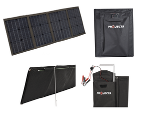 PROJECTA MONOCRYSTALLINE 12 VOLT 80 WATT SOFT FOLDING SOLAR PANEL KIT (LP-SPM80K)