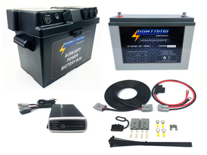 LIGHTNING Premium Dual Battery System (LP-DBSPDCDCK120-QC)