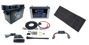 LIGHTNING Premium Portable Solar & Power Package (LP-PSPP-P)