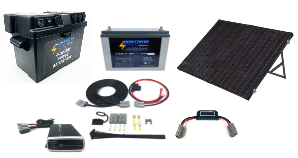 LIGHTNING Extreme Portable Solar & Power Package (LP-PSPP-E)