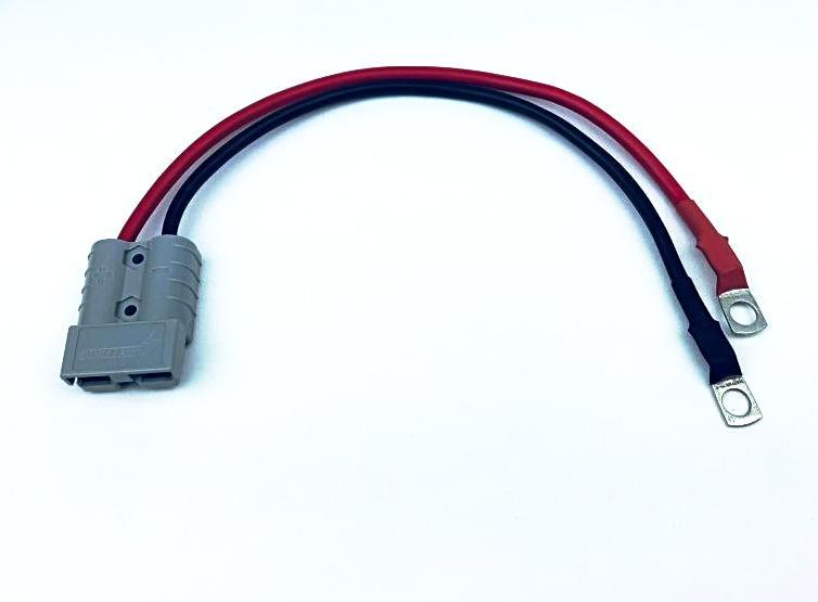 LIGHTNING Anderson Style Connector To Ring Terminal Adapter (LP-A2RTA)