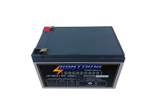 LIGHTNING 12 Volt 12Ah Deep Cycle AGM Auxiliary Battery (LP-12012)