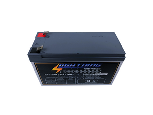 LIGHTNING 12 Volt 7Ah Deep Cycle AGM Auxiliary Battery (LP-12007)