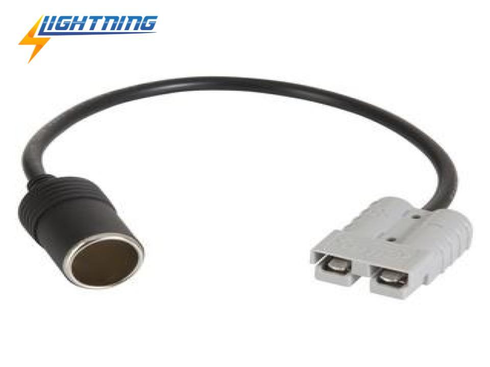 LIGHTNING Anderson Style Connector to Cigarette Socket Adapter (LP-A2CSA)