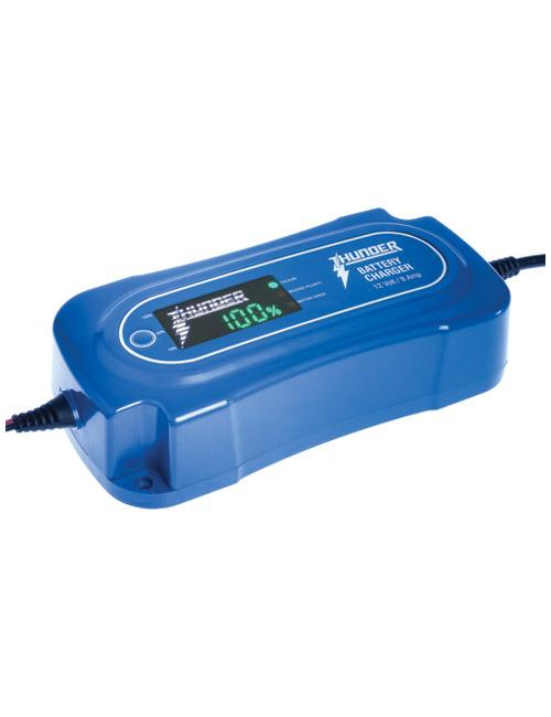 THUNDER 12 Volt 8 Amp 8 Stage Battery Charger (LP-TDR02108)