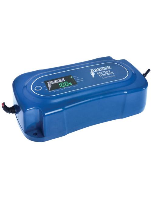 THUNDER 12 Volt 30 Amp 8 Stage Battery Charger (LP-TDR02130)