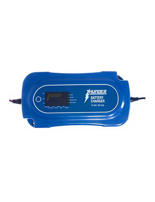 BATTERY CHARGER 30 Amp 8 Stage FULLY AUTOMATIC TDR02130 HEAVY DUTY
