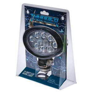 THUNDER 8 LED Work Light – Oval (LP-TDR08106)