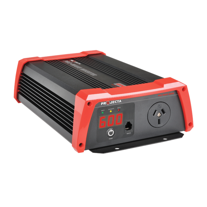 PROJECTA 12V 600W PRO-WAVE PURE SINE WAVE INVERTER (LP-PW600)