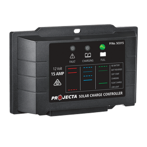 PROJECTA AUTOMATIC 12V 15A 4 STAGE SOLAR CHARGE CONTROLLER (LP-SC015)
