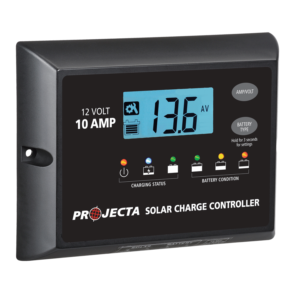 PROJECTA AUTOMATIC 12V 10A 4 STAGE SOLAR CHARGE CONTROLLER (LP-SC110)