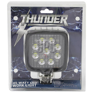 THUNDER 9 LED Work Light – Square (LP-TDR08205)