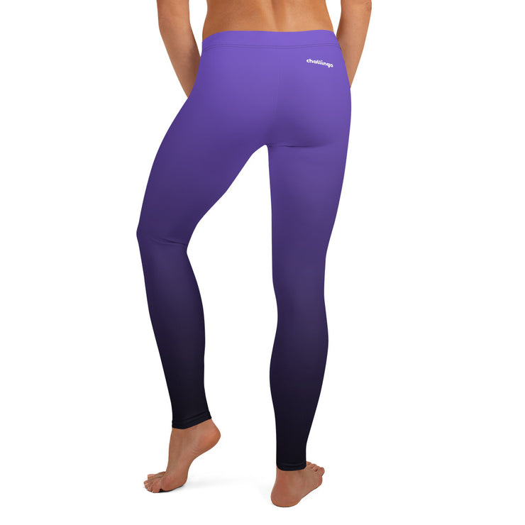 Purple Fade Leggings