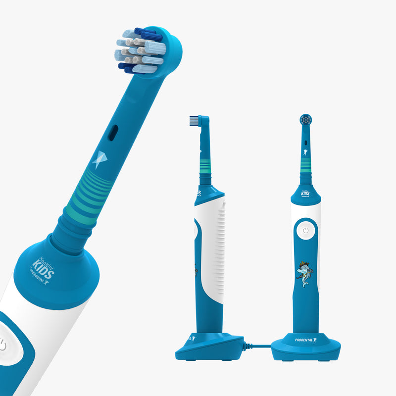 Logan The Shark Electric Toothbrush for Kids - model RK-150
