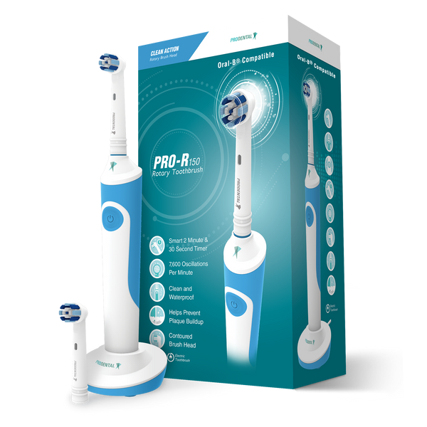 Prodental R-150 Rechargeable Electric Toothbrush - Blue