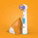 Flossette™ for inter-dental cleaning