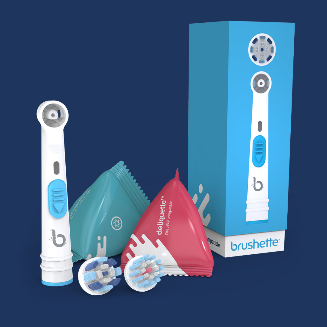 Brushette® Starter Kit - compatible Oral-B® Braun