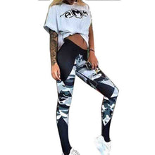 Load image into Gallery viewer, Camouflage Sexy Athleisure Leggings / Yoga pants: Push Up