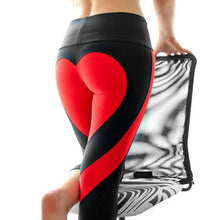Load image into Gallery viewer, Heart Pattern Sexy Athleisure Leggings / Yoga pants: HEYJOE