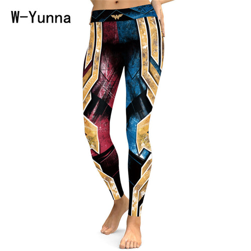 3D Print Sexy Athleisure Leggings / Yoga pants: W-Yunna