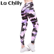 Load image into Gallery viewer, Camouflage Sexy Athleisure Leggings / Yoga pants: Quick Dry