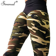 Load image into Gallery viewer, Camo Sexy Athleisure Leggings / Yoga pants: Simenual