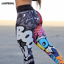Load image into Gallery viewer, Funny Print Sexy Athleisure Leggings / Yoga pants: LASPERAL