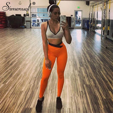 Load image into Gallery viewer, Peach Sexy Athleisure Leggings / Yoga pants: Simenual