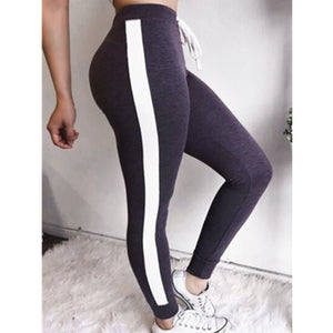 Sexy Grey Athleisure Leggings / Yoga pants: DeRuiLaDy