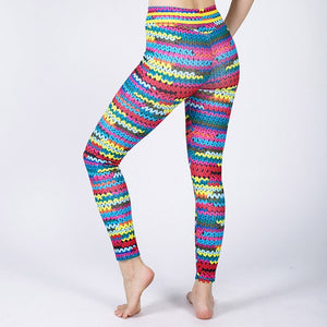 Digital Print Sexy Athleisure Leggings / Yoga pants: Nessaj