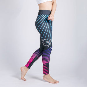 3D Print Sexy Athleisure Leggings / Yoga pants: Nessaj