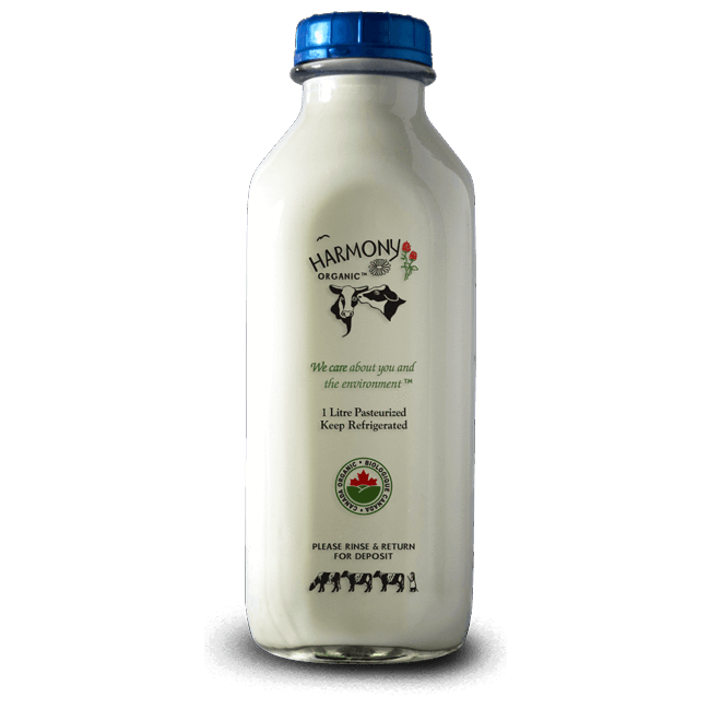 2% Milk - Harmony Organic <BR> (Includes $2 Jar Deposit)