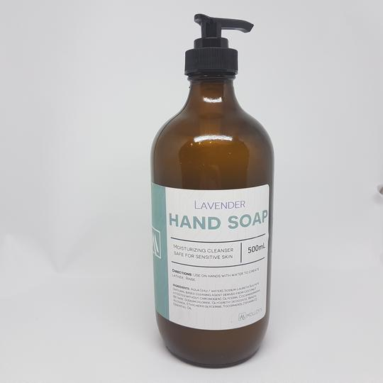 Hand Soap- Lavender <BR> (Includes $1 Jar Deposit)