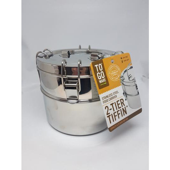Tiffin- 2 Tier Stainless Steel