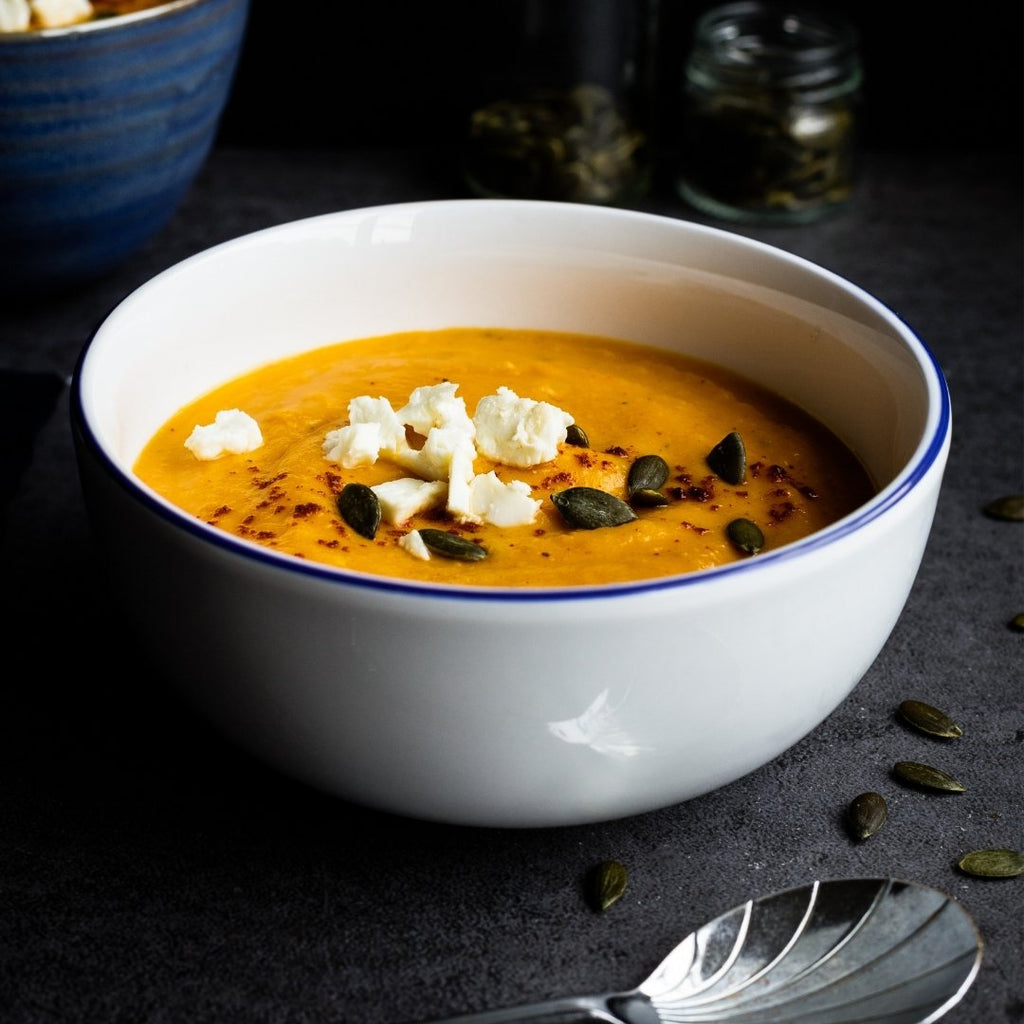 Roasted Winter Squash & Caramelized Apple Soup - Stipley Kitchen (Includes $1 Jar Deposit)