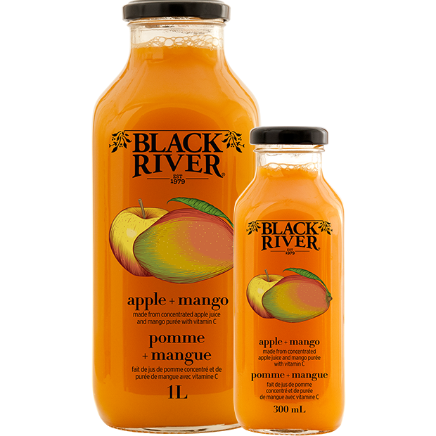 Apple & Mango Juice - Black River