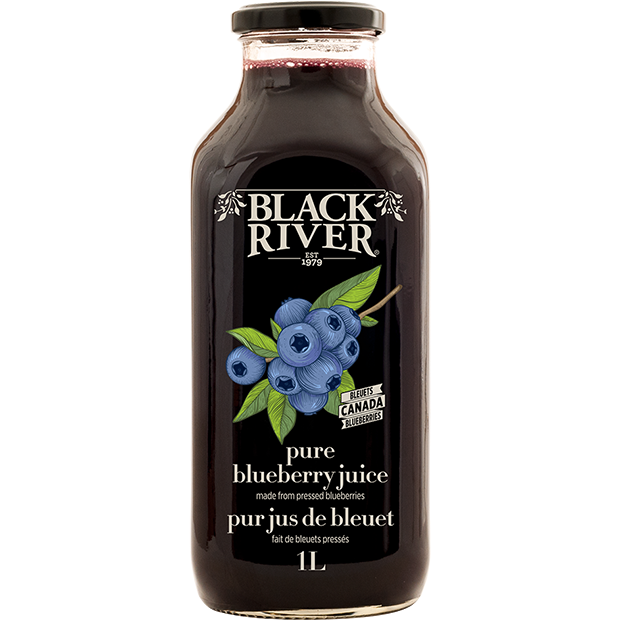 Juice - Pure Blueberry - Black River