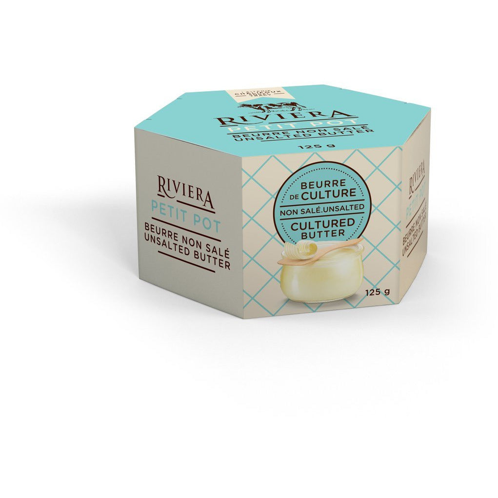 Butter - Unsalted Riviera Cultured Butter
